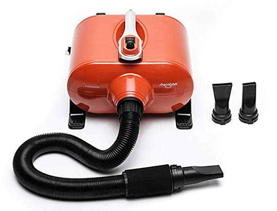 shernbao High Velocity Professional Dog Pet Grooming Hair Force Dryer Blower 6.0HP (DHD-2400F)