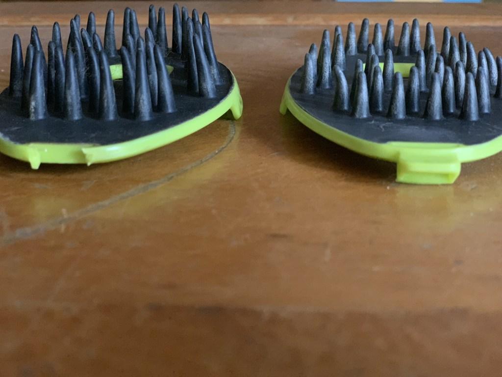 dog med laser brush attachments