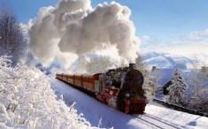 겨울에 시베리아(Siberia) 횡단열차 타기