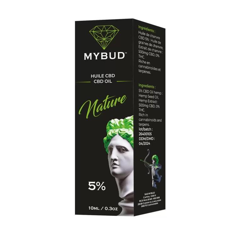 huile cbd nature 5% boîte livraison rapide, pas cher