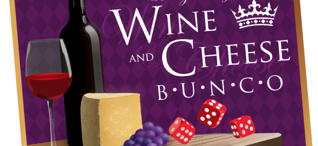 Wine and Cheese Bunco Party Theme