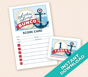 August Bunco Anchors Aweigh Bunco