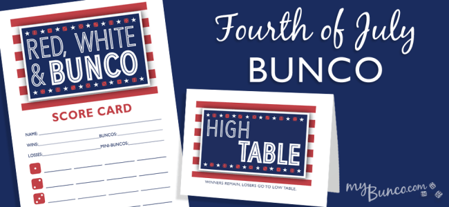 July 4th Bunco Party