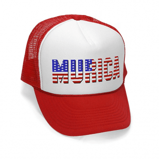 'Murca Hat – White Trash Bunco Bash