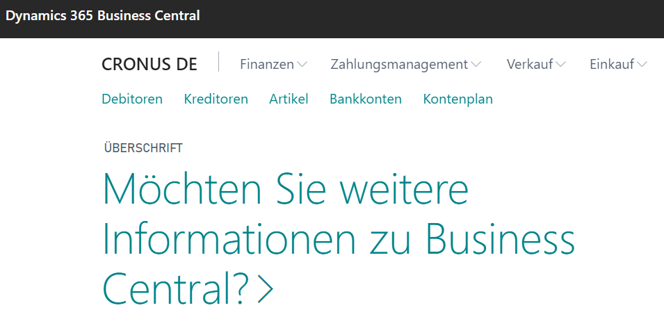 You are currently viewing Was ist Microsoft Business Central?