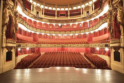 Opéra National de Lorraine, Nancy, scène, loge, blason