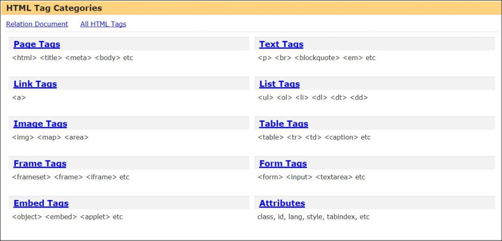 HTMLTag1