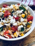 orzo pasta with vegetables