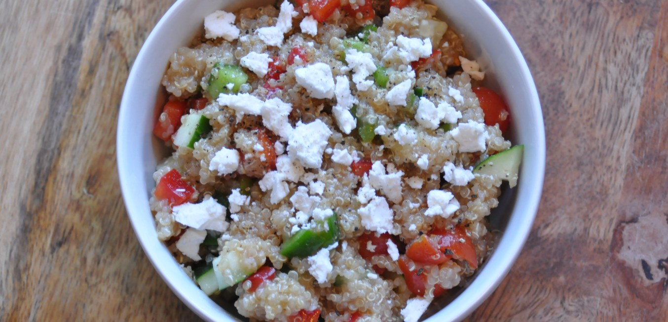 Fast and Fresh Vegetable Quinoa Bowl