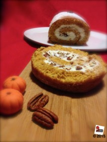 Pumpkin swiss roll http://wp.me/p2x5x0-1ji
