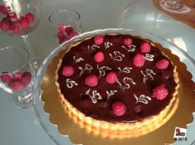Fudge tart ai lamponi http://wp.me/p2x5x0-1kK