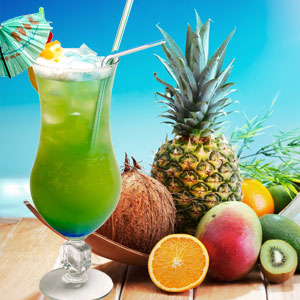 TROPICAL PARADISE IN A BOTTLE