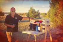My Camp Kitchen Founder Richard Snogren with Outdoorsman
