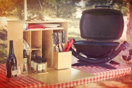 My Camp Kitchen Mini Chef on Gingham Picnic Table