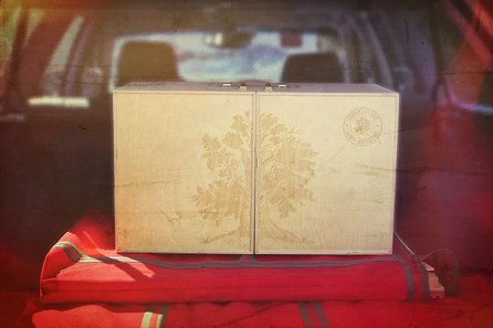 Bristlecone-Engraved My Camp Kitchen Tailgating in Subaru Trunk