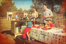 Family Cooking with My Camp Kitchen
