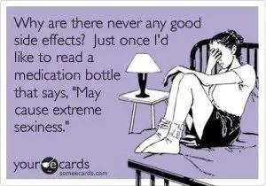 Side Effects Joke Card