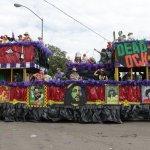 Mardi Gras at Mobile Alabama 2014 waggon