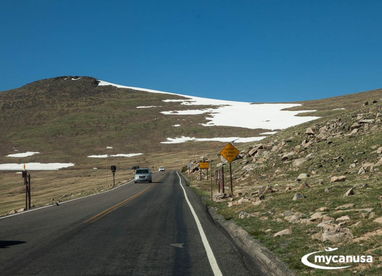 Rocky Mountain Nationalpark Trail Ridge Road