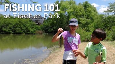 Fishing for Kids @ Fischer Park Nature Education Center | New Braunfels | Texas | United States