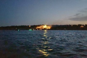 Canyon Lake Brush Fire