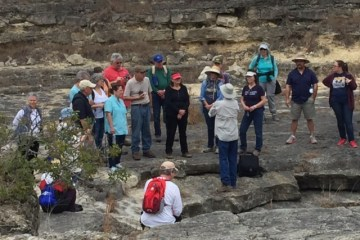 Texas Master Naturalists at Canyon Gorge.