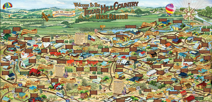 Take a Hill Country Wine Tour