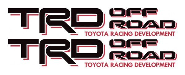 Awesome 2003 TOYOTA TRD OFF ROAD Decals Tacoma Sticker ...