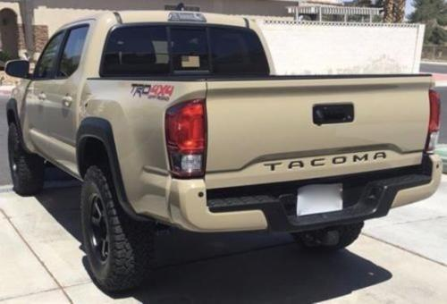 Amazing For 2016 – 2018 Toyota Tacoma Rear Tailgate Insert ...