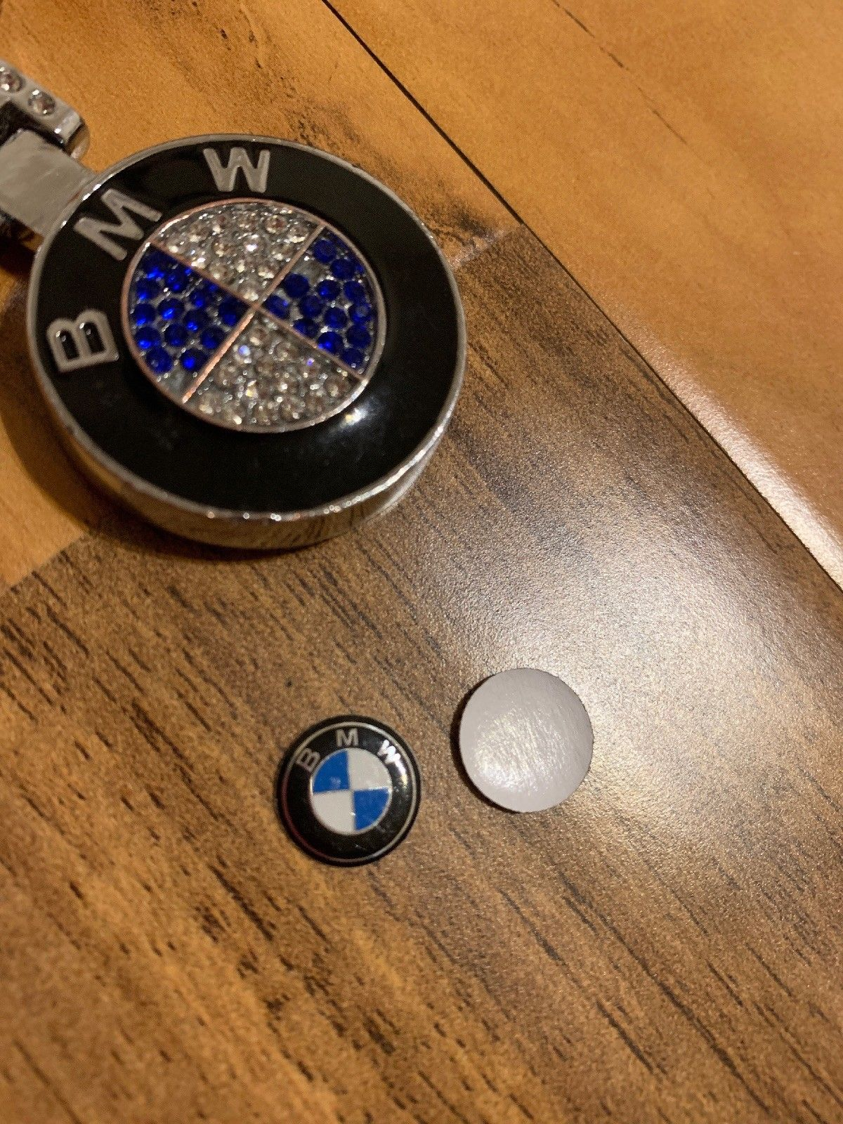 Used 2 Pieces 11mm 1 1cm Bmw Key Fob Logo Badge Sticker Usa Seller Fast Shipping 2018 2019