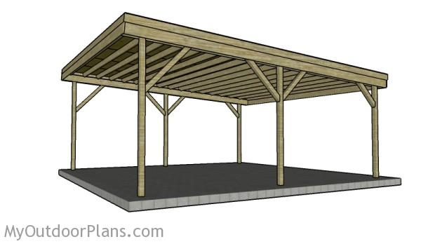 Building-a-double-carport-plans-600x348