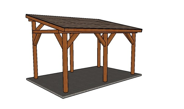 Lean-to-carport-plans