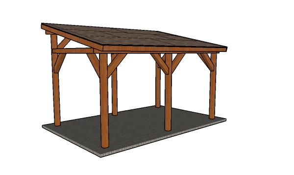 Lean to carport plans
