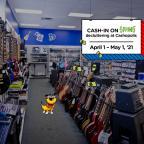 Cash-in on spring decluttering at Cashopolis