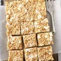 Maple Brown Butter Rice Krispie Treats (+the best base recipe)