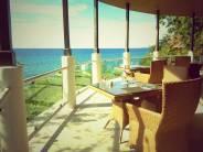 The resort's pavilion.
