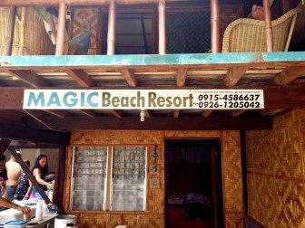 Magic Beach Resort on Lambug, Badian.