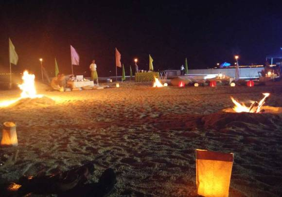 Be Resorts Bonfire Fridays happens weekly until December.