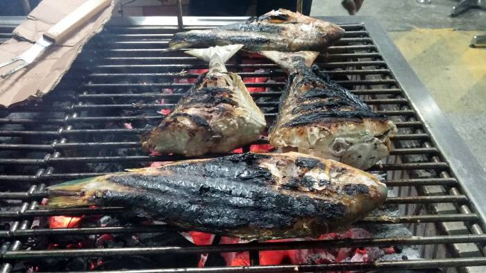 A-One is known for its seafood menu, including fish soup or tinola and grilled fish.