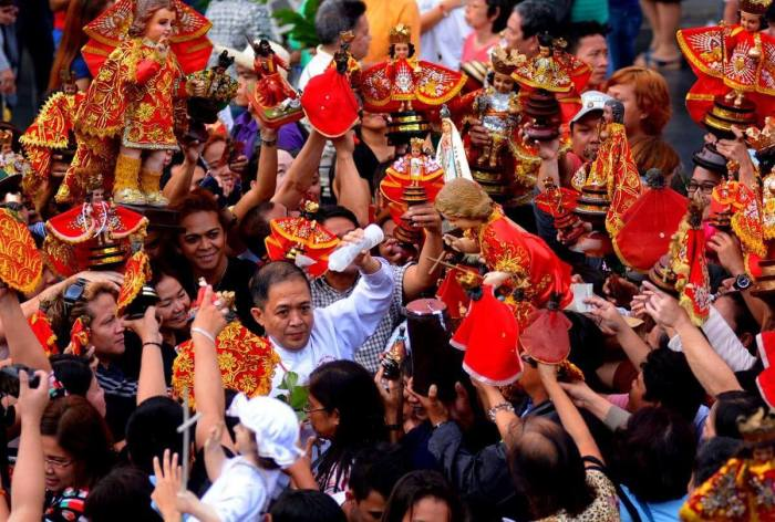 RELIGIOUS FOCUS. This year's Sinulog Grand Parade will highlight the religious foundation of the festival.