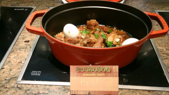 The humba is a favorite local pork dish.