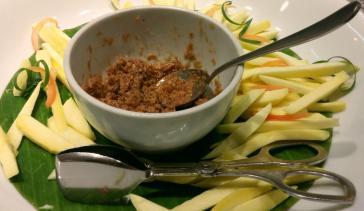 Mangga with hipon