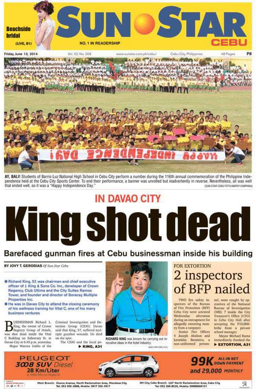 Robberies, murders and disasters: Top 10 Cebu news stories of 2014