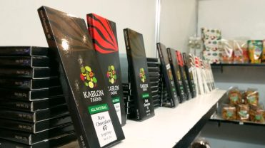 These chocolates come from the Kablon Farms in South Cotabato.