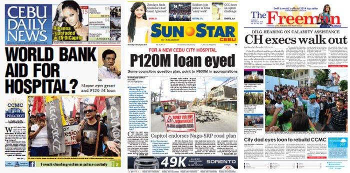 Cebu newspapers
