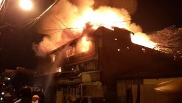 Sambag II Fire
