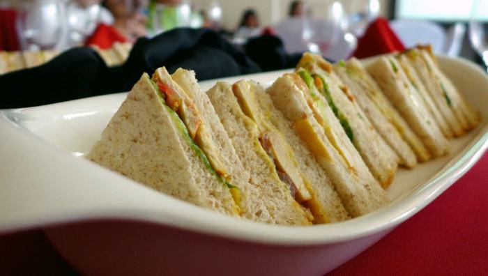 AirAsia inflight sandwiches
