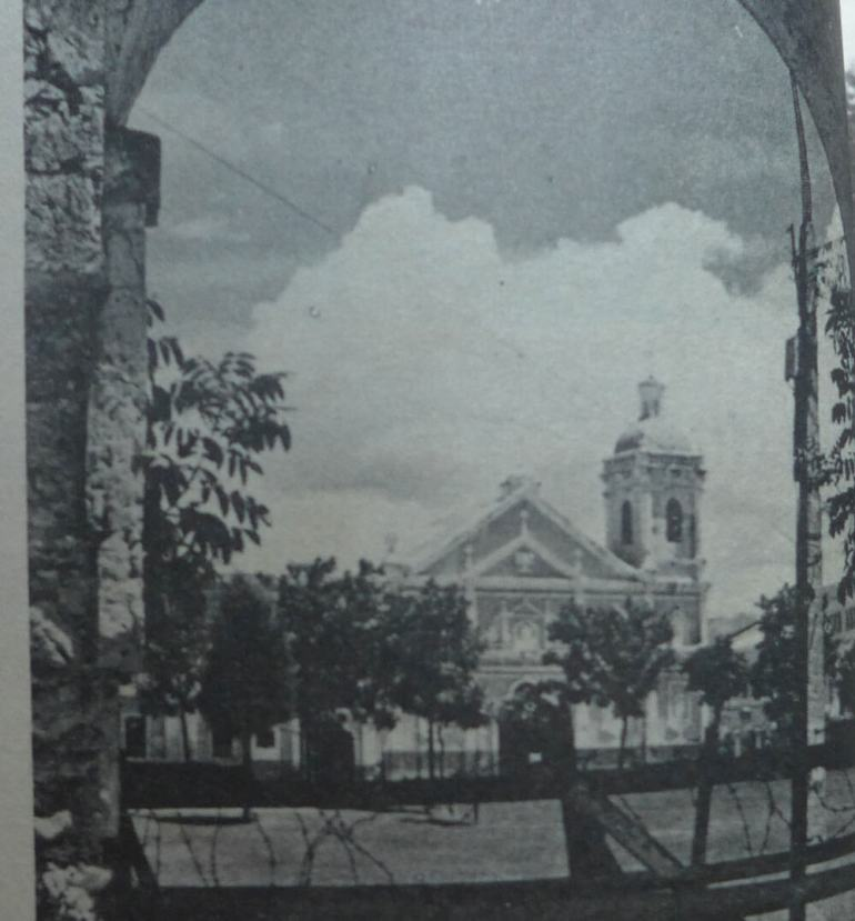 The basilica in the 1960s, when it was still known as the Augustinian Church.