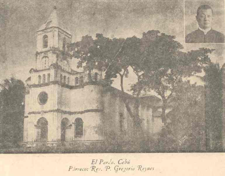 Old photo of the Pardo church as posted in Skyscraper City.