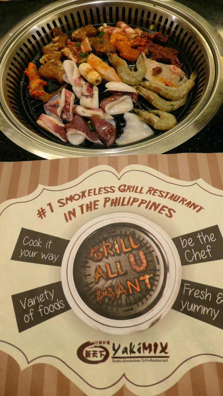Yakimix Cebu buffet grill